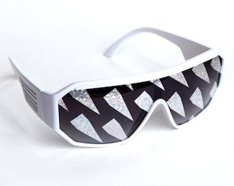 Rasslor Diamond Rain Sunglasses