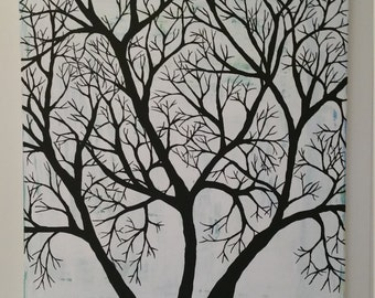 Painting: Family tree