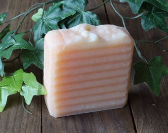 Lemongrass & Coconut Natural Handmade Cold Process Soap - Vegan Soap - Essential Oil Soap - Homemade Soap - Shea Butter Soap - Made in UK