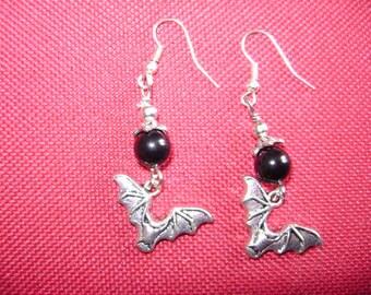 Swarovski Bat Earrings