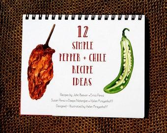 12 Simple Pepper + Chile Recipe Ideas