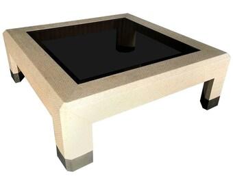Harrison Van-Horn Table with Brass Sabots