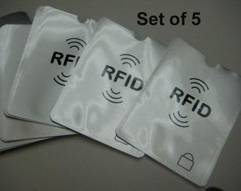 RFID Passport Blocking for Passport Protector RFID Blocking Sleeves Aluminum Safety Shield holder