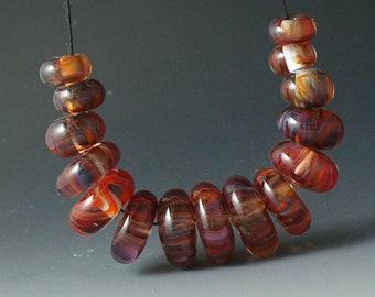 Perles/SRA Murano lampwork/perles/disques/Grenade /