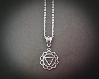 Solar Plexus Chakra Beautiful Pendant Necklace Inspired By Chakra Healing.