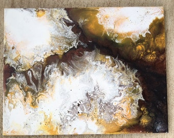Mica - 11x14 - Original acrylic abstract painting by Cory Heiple