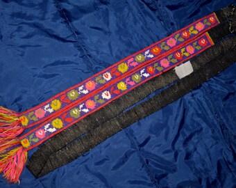 WOOL BELT from Ukraine ! Hand Made weaved