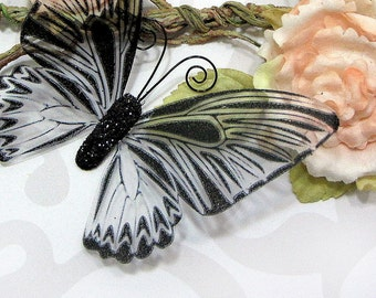 Glass Butterfly Embellishments G14