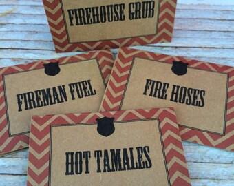 Fireman Food Labels- (12)