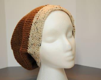 Tan Knit Cap