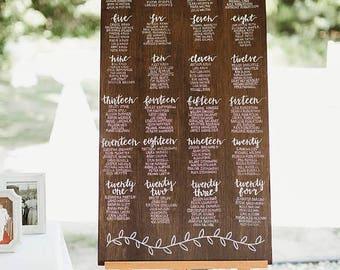 Wedding Seating Chart <225 names