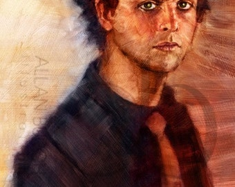 Billie Joe Armstrong of Green Day - Limited Edition Print 11 x 17