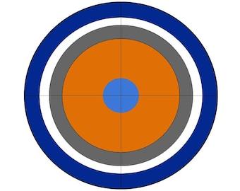 Nerf Target Decor
