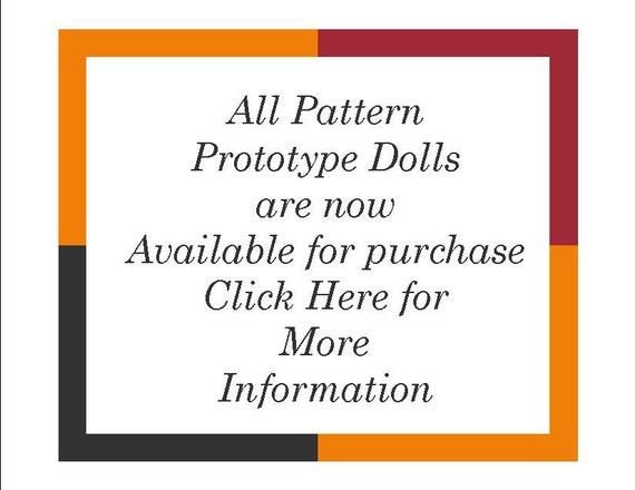 Original Prototype OOAK Collectible Handmade Dolls
