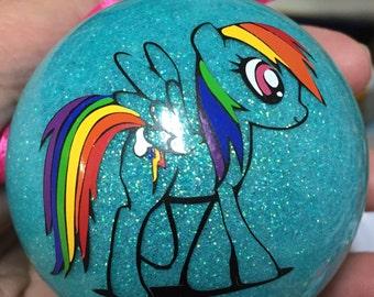 Rainbow Dash My Little Pony Ornament