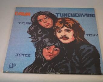 Vintage Gatefold Record Dawn Featuring Tony Orlando: Tuneweaving Album 1112