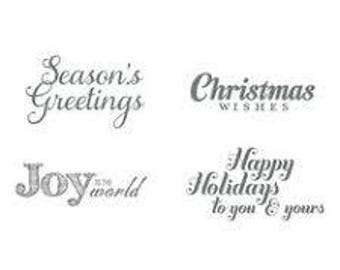 Joy to the World (Wood) - Stampin Up