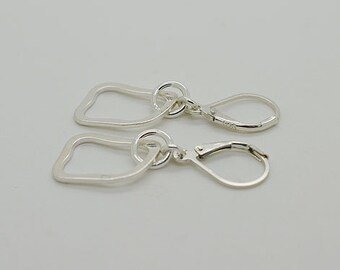 Sterling Silver Lever Back Earrings 56