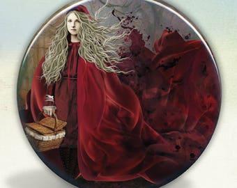 Red Riding Hood Tartx Illustration