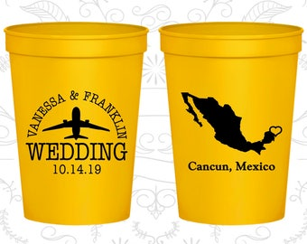 Mexico Wedding Cups, Mexico Stadium Cups, Mexico Plastic Cups, Mexico Cups, Mexico Party Cups (184)