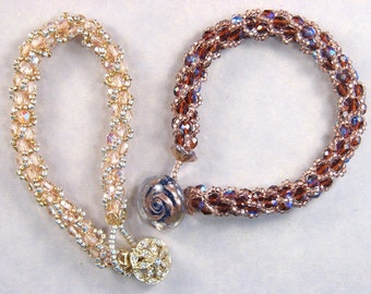 TUTORIAL: Turkish Loops Bead Crochet Bracelet