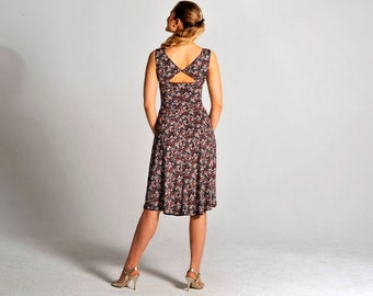 BIANCA reversible floral tango dress, XS and S