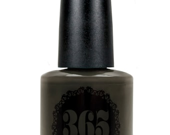 Muted Olive Green Creme Nail Polish - Vouves