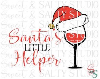 santa's little helper digital file