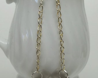 vintage silver tone ball button earrings,silver tone ball button earrings,women,dangle button earrings,silver earrings,button earrings,