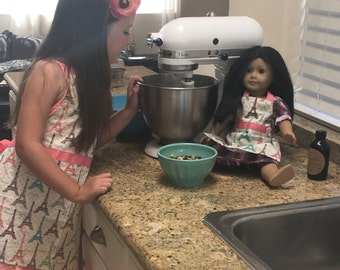 Dolly and Me Matching Apron Set