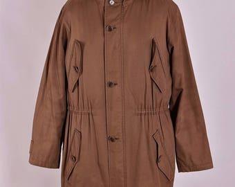 Men's Paul Smith Vintage Hooded Parka Casual Coat Jacket Size M L Genuine