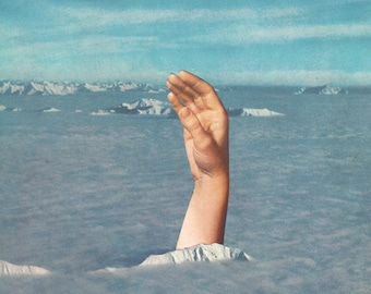 Print - Drowning Collage
