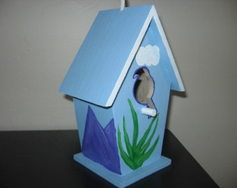 SOUTHWEST STYLE Cactus BIRDHOUSE - All occasion gift!!!