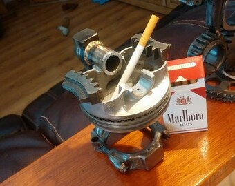 Hot rod ashtray