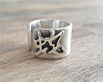 The Snake - 925 silver ring