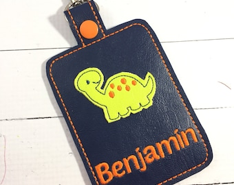 Personalized Tag - Fox Tag - Dinosaur Tag - Monster Tag - owl tag -Baby Shower ideas - Baby Shower Gifts - Luggage Tags - Custom Diaper Bag