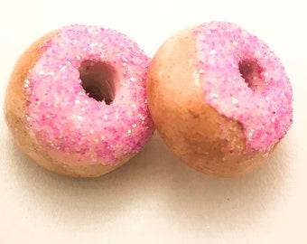Strawberry Doughnut Charm