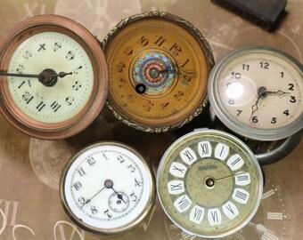 1 Vintage Clock Mechanism