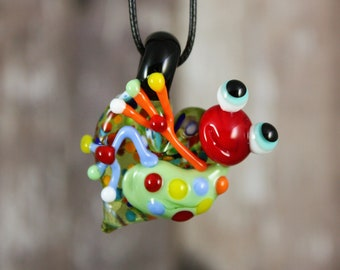Frog Necklace, Frog Jewelry, Frog Pendant, Frog on a Heart, Frog, Glass Frog, Heart Pendant, Frog on a Heart Necklace, Love Pendant