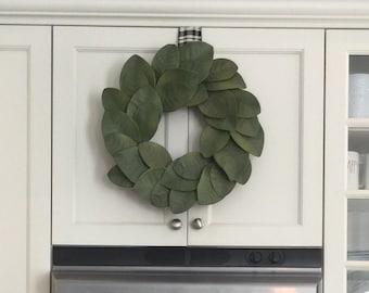 Magnolia wreath - Magnolia leaf wreath - Farmhouse wreath - Holiday wreath