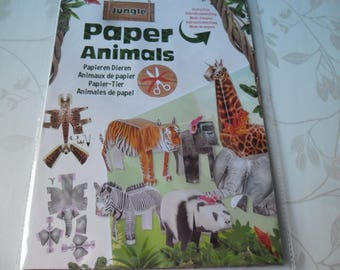 x 1 complete kit to make the pre-cut paper Savannah animals