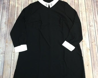 collar dress plus size 3xl