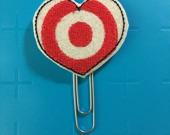 Target Heart Planner Clip