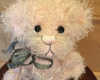 SPARKLE: a handmade artist teddy bear from Jazzbears