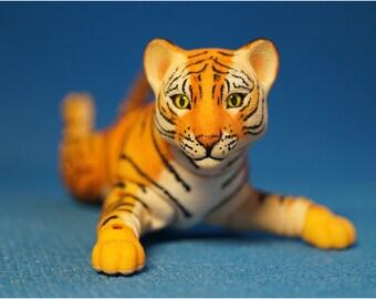 BJD Tiger cub. From Elleo Dolls