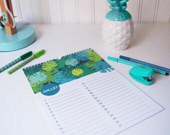 calendrier des anniversaires, calendrier permanent, cadeau pour les femmes, cadeau fête des mères