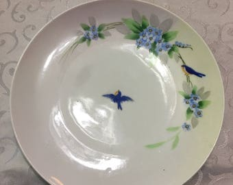 """Hand painted Nippon Plate 8.5"""""""