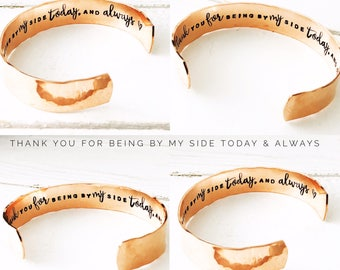 Wedding Gift Ideas   Best Woman Gift   Thank you for Standing by my Side   Best Friend Gift  Wedding Gift   Bridesmaid Gifts (W226)