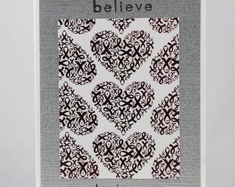 Breast Cancer Greeting Card - Encouragement/ Hope