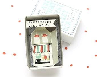 Die Instant Komfort Pocket Box - Häuschen - Trost-Geschenk - aufzumuntern Geschenk